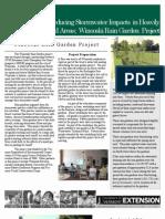 Winooski Rain Garden Project