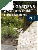 Central Florida Rain Garden Manual