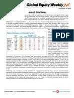 BMO Global Equity Weekly 11-18-2011