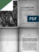 São Domingos e sua Ordem- Fr. Bernadot O.P.