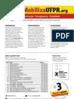 Panfleto Chapa 3 - Mobiliza UFPR