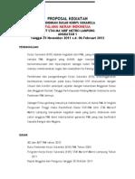 Proposal Kegiatan KSR-PMI UNIT STAI MA'ARIF METRO LAMPUNG