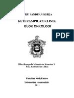 Manual Mahasiswa Onkologi 2011