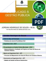SIG - Sistema de Informações Geográficas aplicado ã Gestão Pública Municipal - Juiz de Fora