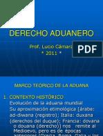 UNFV-DERECHO ADUANEROdiapositivas 2011