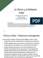 El Dragón Chino y el Elefante Indio