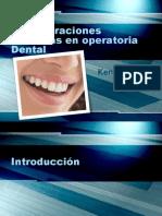 Consideraciones Estéticas en Operatoria Dental