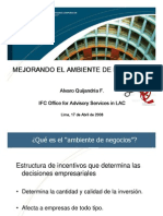 6- Presentacion Alvaro Quijandria de IFC, Abril 2008