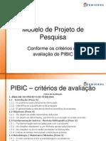 Modelo de Projeto Pibic