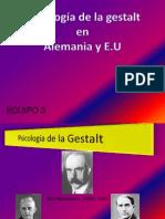 Psicología de la Gestalt