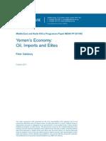 @ChathamHouse @Yemen_Forum #Yemen Economy 2011