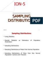 Session 5 Sampling Distribution