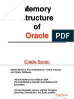 Memory Structure of Oracle