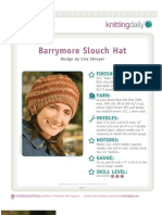 Barrymore Slouch Hat