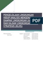 Bab 16pengelolaan Lingkungan Hidup Analisis Mengenai Dampak Lingkungan (