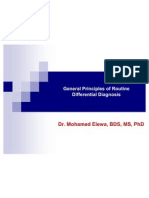 Principles of Differential Diagnosis