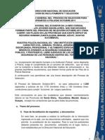 Instrucciones Generales Proceso Octubre2011