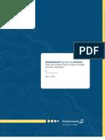 Geotech Report
