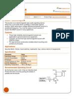 Buzzer Datasheet