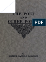 Raymond Garfield Dandridge--The Poet and Other Poems (1920)