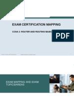 CCNA2 Exam Mapping