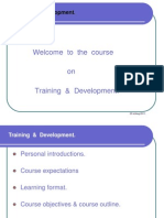 SJCBA T & D Course - Sessions 1-6-13, 20 & 27 Th Sep. '11