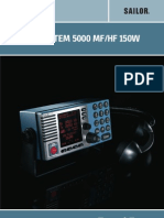 Sailor System 5000 Mfhf 150w User Manual
