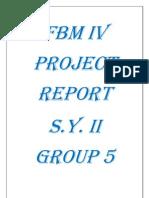 FBM IV SY II GROUP 5