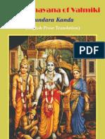 Valmiki Ramayana - MN Dutt - Volume 5 - Sundara Kanda