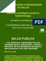 Epidemiologia e Inequidades en Salud