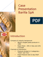 Barilla SpA Case Solution