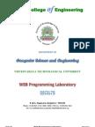 Web Programming Lab Manual
