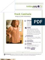 Frock Camisole