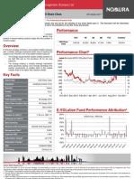 Nomura E-VOLution Fund Class I USD - Factsheet