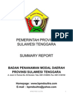 Summary Report BPMD Sultra