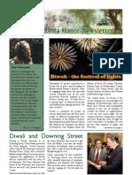 Bhaktivedanta Manor Newsletter November 2011