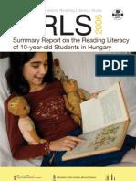 PIRLS2006 Hungarian Report English