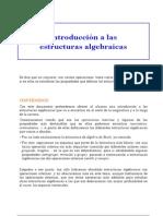 Estructuras Algebráicas