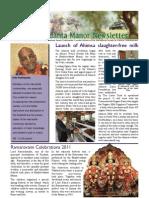 Bhaktivedanta Manor Newsletter May 2011