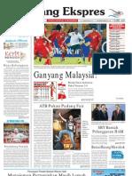 Koran Padang Ekspres   Minggu, 20 November 2011.