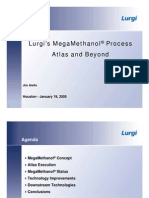 Lurgi Mega Methanol by Combined Reforming