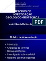 investigaciones geologico geotécnicas