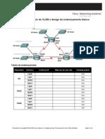 6.4.1 -  Cálculo de VLSM e design de endereçamento básico
