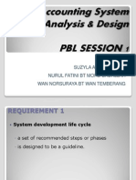 PP Accounting System Analysis & Design