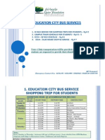 QF Transport Bus Schedule