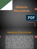 Géneros Discursivos