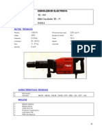 943011 Demoledor Electrico TE - 905 Hilti