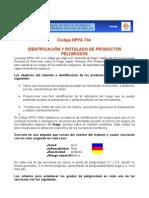 CODIGO NFPA 704
