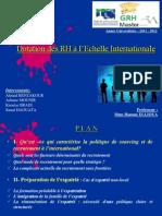 Dotation des RH à l'échelle internationale V2