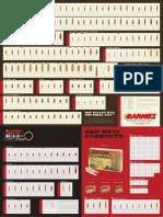 2011 Barnes Bullet Chart